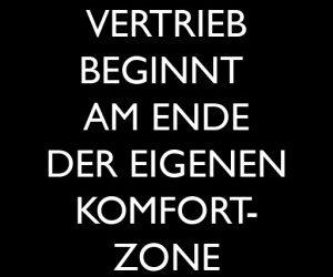 Erfolg beginnt am Ende der eigenen Komfortzone