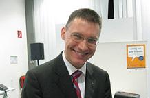 Anthony Owen auf einem Seminar