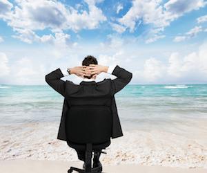 Wie die Arbeit wie ein endloser Urlaub wird