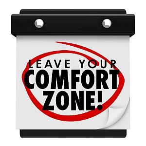 Verlassen Sie Ihre Komfortzone